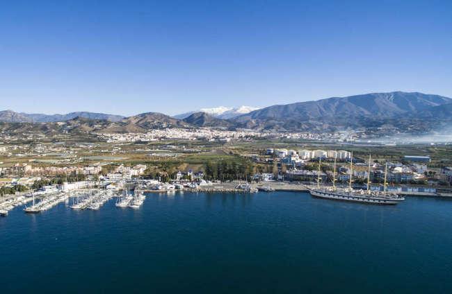 Puerto de Motril-Granada - Sierra Nevada - Crucero Royal Clipper_web