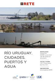 Webinar Río Uruguay. Ciudades, Puertos y Aguas