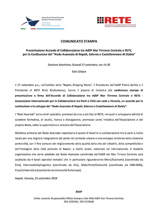 online_COMUNICATO STAMPA_Presentazione-Accordo-AdSP-RETE-600